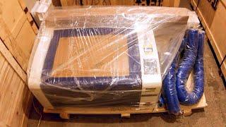 Download Лазерный станок гравер 600х400мм 60W [LASERSHOP.ORG] Video
