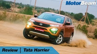 Download Tata Harrier Review - Best Indian Car Ever 🔥   MotorBeam Video