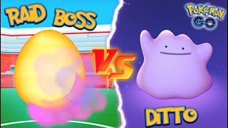 Download WHAT HAPPENS IF YOU USE A DITTO AGAINST A RAID BOSS IN POKEMON GO? Video
