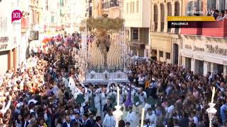 Download Semana Santa 2019 Málaga | María Santísima del Amparo en La Tribuna de los Pobres | 101tv Video