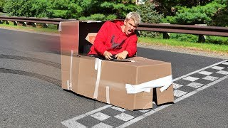 Download BOX FORT RACE CAR!! Video