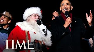 Download President Obama And Chance the Rapper Sing Christmas Carols Together | TIME Video