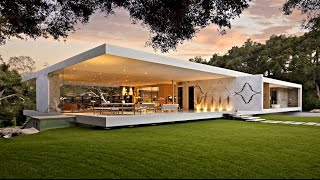 Download Impressive Modernist Glass-Walled Luxury Residence in Montecito, CA, USA (by Steve Hermann) Video
