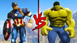 Download CAPTAIN AMERICA vs THE HULK!! Video