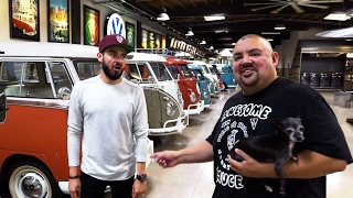 Download We met Gabriel ″Fluffy″ Iglesias and his EPIC GARAGE!!! Video