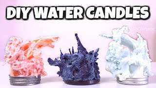 Download DIY GOTHIC WATER CANDLE // SoCraftastic Video