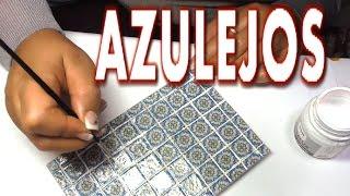 Download COMO HACER AZULEJOS EN MINIATURA - HOW TO MAKE MINIATURE TILES Video