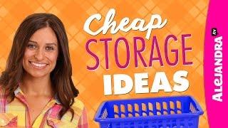 Download Cheap Storage Ideas - Dollar Store Haul Video