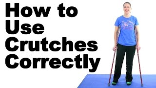 Download How to Use Crutches Correctly - Ask Doctor Jo Video