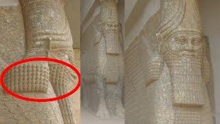 Download Lamassu - Annunaki Winged Bulls - Lost Ancient Sumerian Statues in Iraq at Gate of Nergal, Nineveh Video