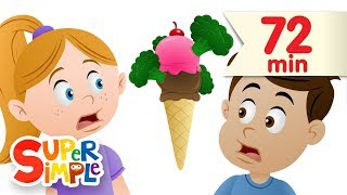 Download Do You Like Broccoli Ice Cream? + More | Nursery Rhymes | Super Simple Songs Video