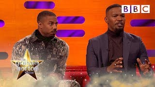 Download Jamie Foxx tearful over father prison story   The Graham Norton Show - BBC Video