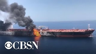 Download U.S. officials: Iran likely behind new tanker attacks Video