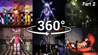 Download 360°  Best FNAF 360 Show Compilation!! - Five Nights at Freddy's [SFM] (VR Compatible) Part 2 Video