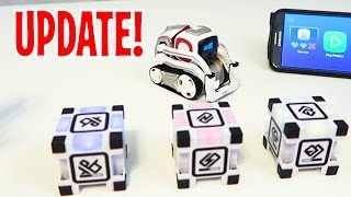 Download Cozmo - NEW UPDATE: Lets Play Memory Match, Explorer, Pets, and MORE! (Anki's New Robot Review!) Video