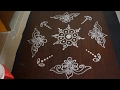 Download easy kolam without dots || easy muggulu without dots || easy rangoli designs without dots Video