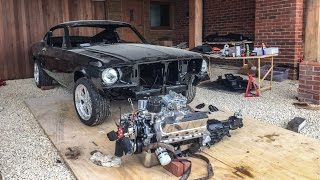 Download Building a 1967 Ford Mustang Fastback on a driveway! Video