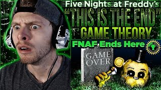 Download Vapor Reacts #687   FIVE NIGHTS AT FREDDY'S THEORY ″This Is The End″ by The Game Theorists REACTION! Video