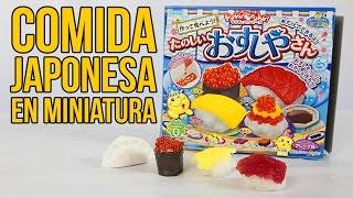 Download EXPERIMENTANDO CON COMIDA JAPONESA EN MINIATURA - Comida Artificial Video