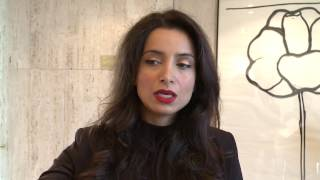 Download Deeyah Khan calls for increased mobility of artists and better representation of women in creation. Video