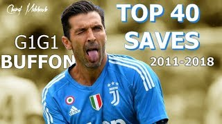 Download Gianluigi Buffon TOP 40 Saves 2011-2018 Video