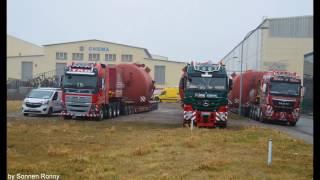 Download Schwerlast Kahl- Meier & Sohn- TAG - Im Convoi von Arnstadt zum Elbhafen Aken Video