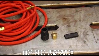 Download TIG200 torch conversion kit Video