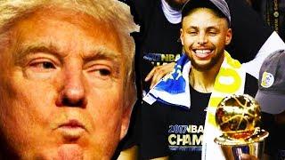 Download NBA Champions Burn Trump Video