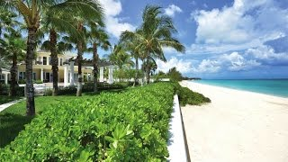 Download Grand Beachfront Home in Old Fort Bay, Bahamas Video