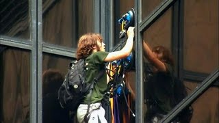 Download See New Photos Of Trump Supporter Who Climbed Building With Suction Cups Video