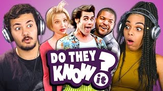 Download DO TEENS KNOW 90s COMEDY MOVIES? (REACT: Do They Know It?) Video