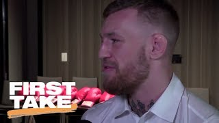 Download First Take Responds To McGregor's Rebuttal To Mayweather Interview | First Take | ESPN Video