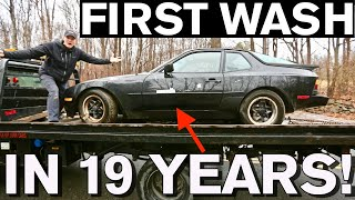 Download Disgusting Car Detailing Makeover: Junkyard Disaster Before and After Cleaning Video
