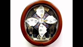 Download QXM478BRH Seiko Melodies in Motion Pendulum Wall Clock Video