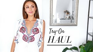 Download SUMMER TRY-ON CLOTHING HAUL! | Annie Jaffrey Video