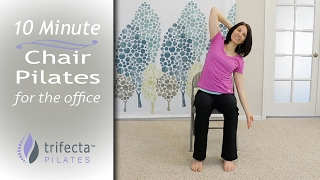 Download 10 Minute - Chair Pilates for the Office Video