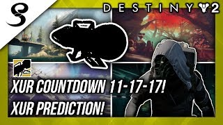 Download Destiny 2 - XUR COUNTDOWN 11-17-17! XUR INVENTORY! Video