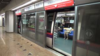 Download SMRT(SBS Transit) North East Line C751A (042-041)Train At China Town Station Video