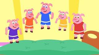 Download Пять поросят | Five Little Piggies Video