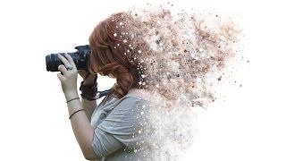 Download Tutorial Photoshop CS6 - Disintegration effect Video