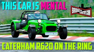Download 2013 Caterham R620 Development Car; one lap of the Nürburgring Nordschleife Video