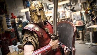 Download Adam Savage's New Thracian Warrior Armor! Video