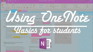 Download Using OneNote | Basics for students Video