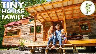 Download How This Frugal Family of 4 Paid Off $96k in Debt & Built a Custom Tiny House Video