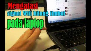 Download Tutorial Cara Memperbaiki Signal wifi yang hilang pada Laptop, akibat benturan Video
