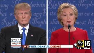 Download FULL: Fiery Presidential Debate - Donald Trump vs. Hillary Clinton Video