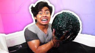 Download DIY How To Make GIANT BLACK BATH BOMB! Video