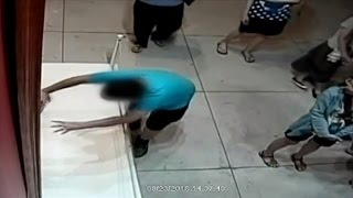 Download Watch a Boy Accidentally Punch A Million Dollar Painting Video