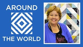 Download Make a Half Square Triangles Around the World Quilt with Jenny Doan of Missouri Star! Video