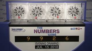 Download Evening Numbers Game Drawing: Sunday, July 15, 2018 Video